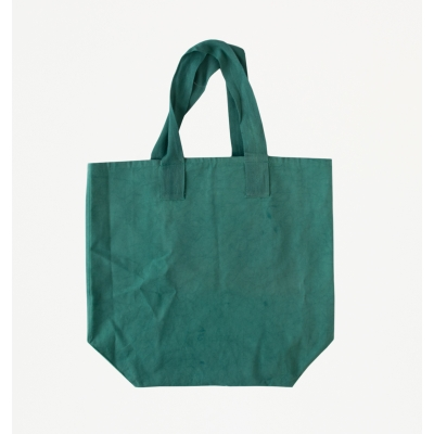 Shopper/beach bag malachite green