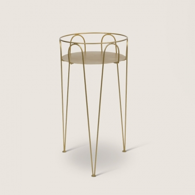 Urban Nature Culture plant table M, gold
