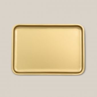 Urban Nature Culture Good Morning Serving tray, gold